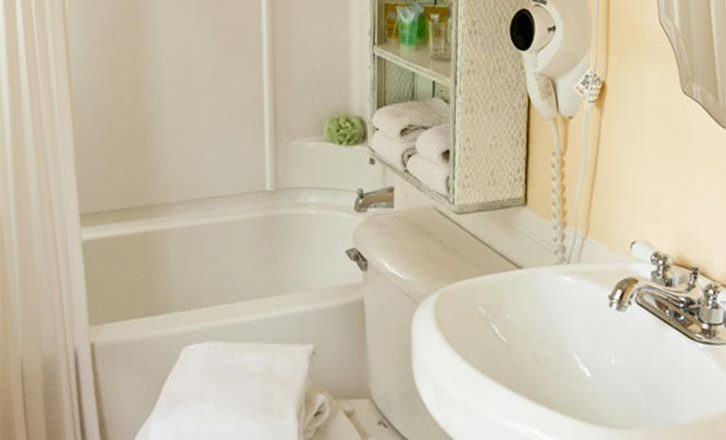 Bathroom in our Berkshires Lenox, Mass Hotel