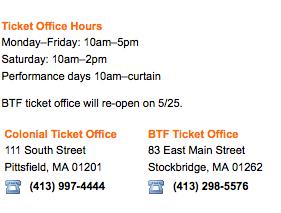 BTF tickets