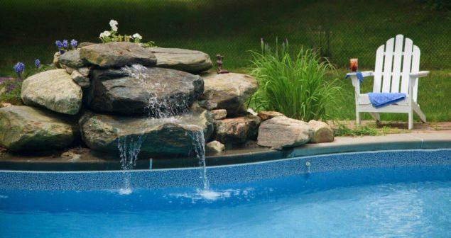 The Pool at Hampton Terrace Inn