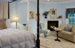 Luxury room at our boutique hotel in downtown Lenox