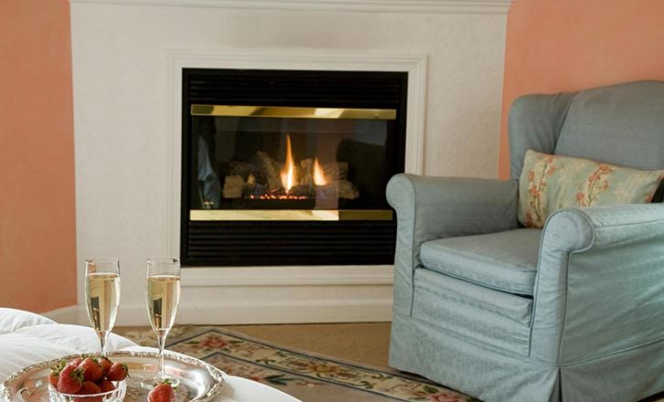 Escape to one of the best hotels in the Berkshires with fireplaces