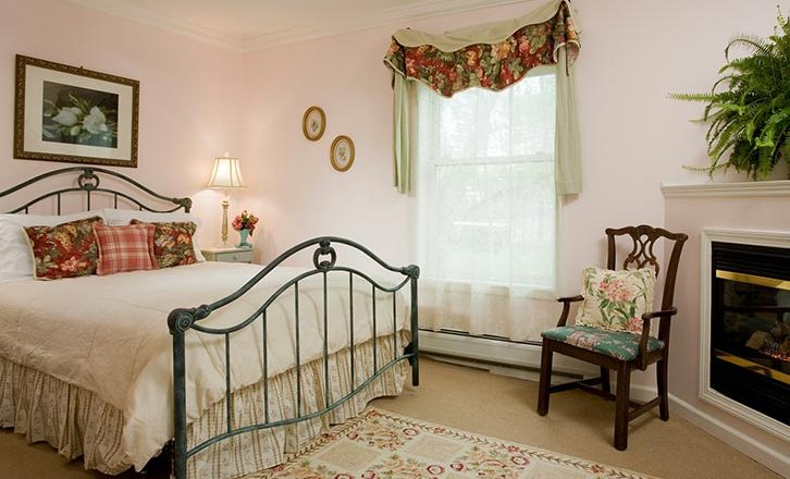 Fireplaces make a stay at our inn the Ultimate Romantic Getaway in New England