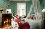 Historic Berkshires, MA Hotel Romantic rooms with fireplaces