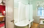 Bel Air bathroom at our inn in the Berkshires