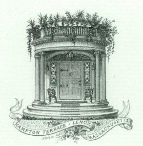 Sketch of Hampton Terrace Inn entrance