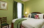 Best of the Berkshires at Top Lenox, Mass Hotel room with day bed