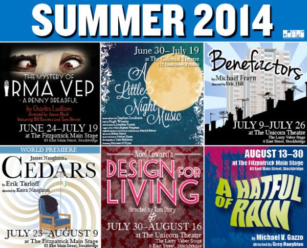 Berkshire Theatre Group 2014 Season