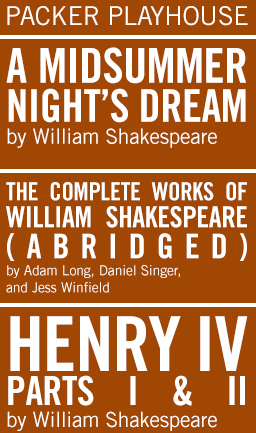 Shakespeare & Company schedule