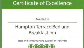 2014 Winner of the TripAdvisor Certificate of Excellence