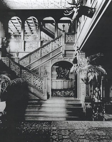 Venfort Hall Staircase