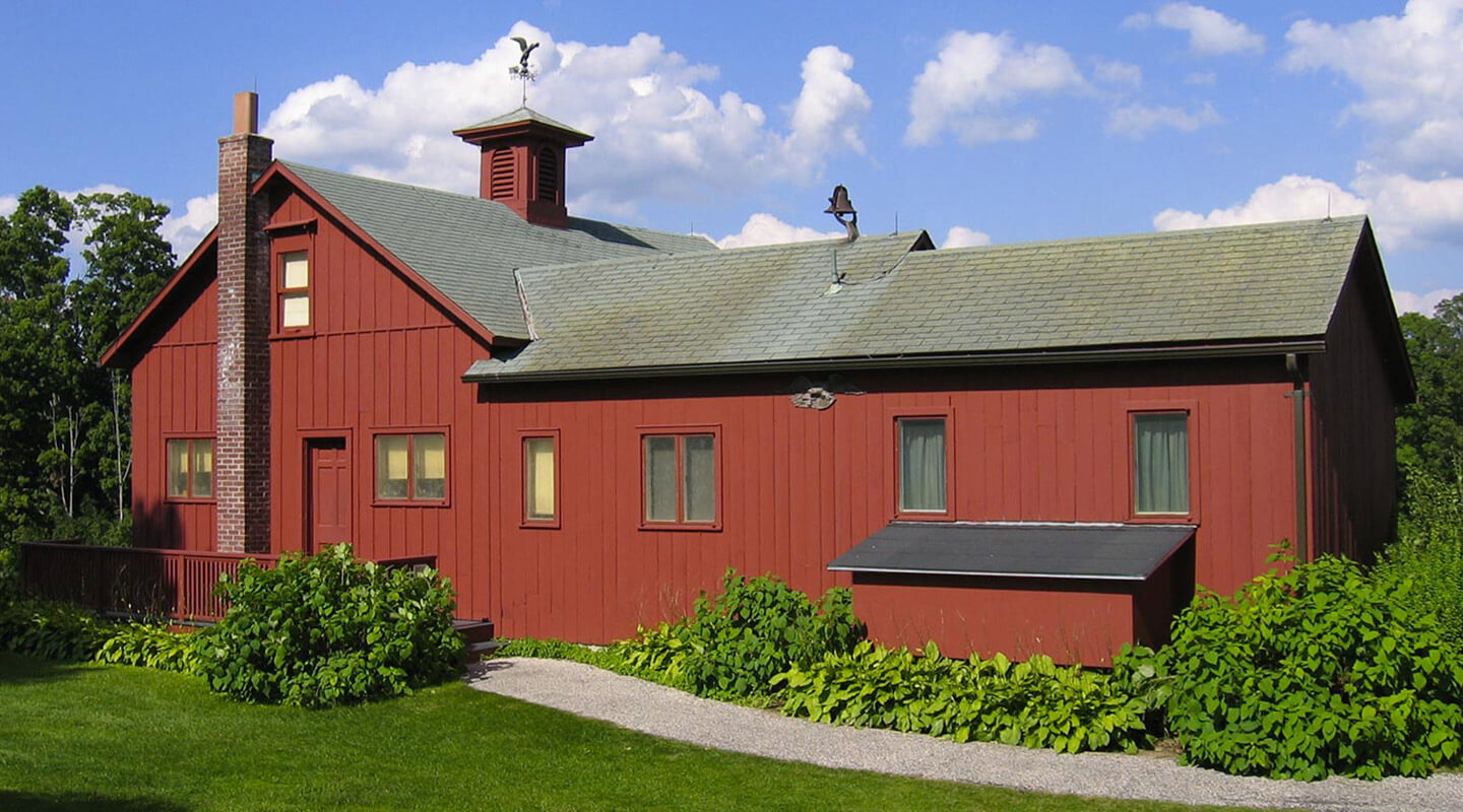 Norman Rockwell studio. Plan your stay in the Berkshires