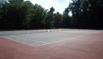 Tennis court in Lenox