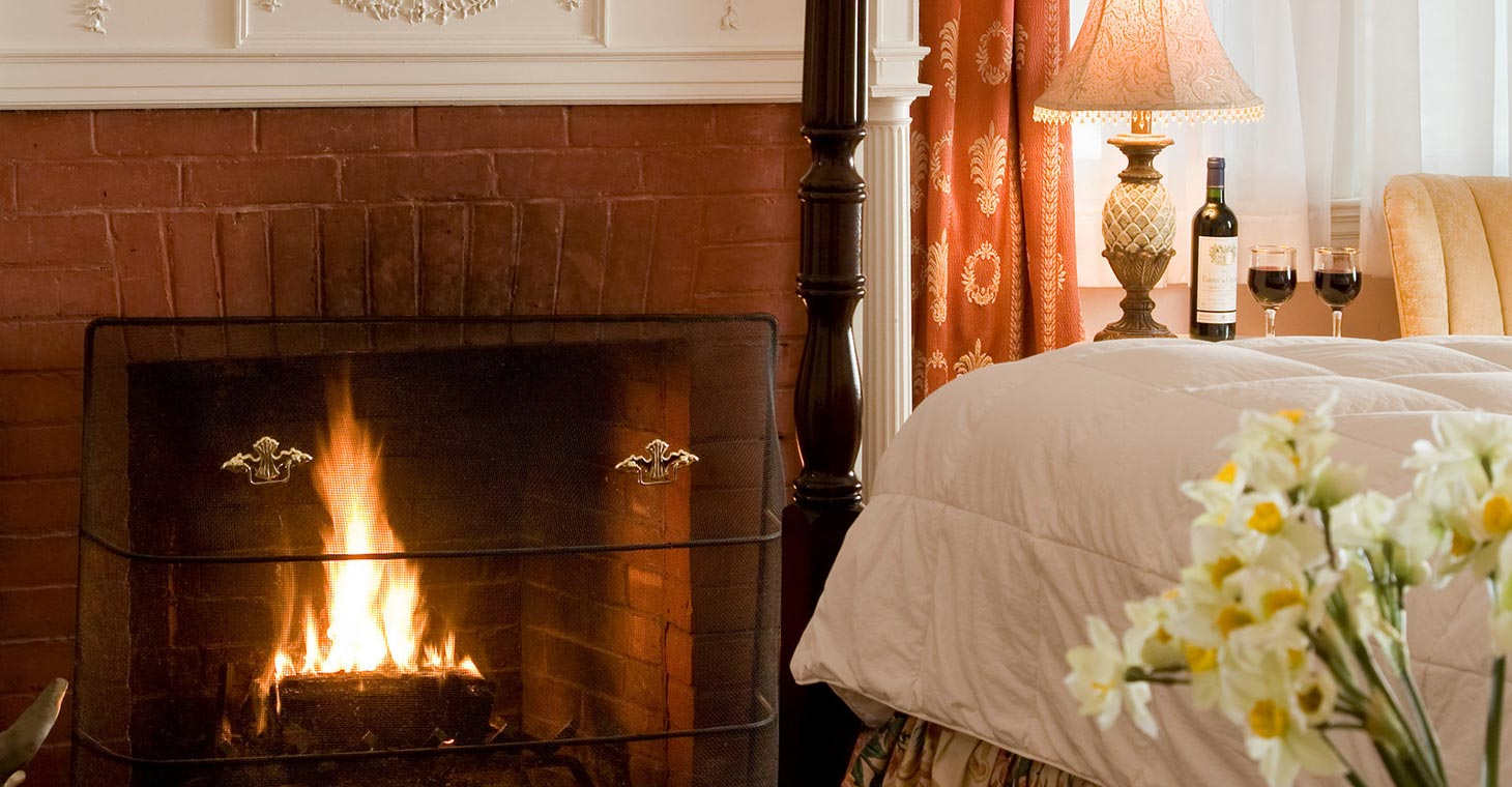Romantic suites and cottages in the Berkshires