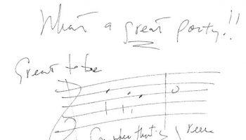Note from Alan Menken