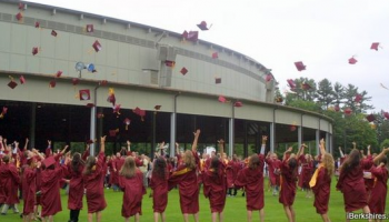 High school graduation at Tanglewood