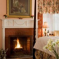 Struthers Room fireplace