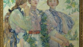 Painting of three women