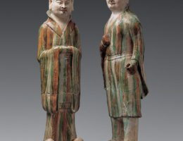 Old statues at the museum