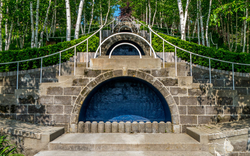 historic naumkeag estate in stockbridge massachusetts
