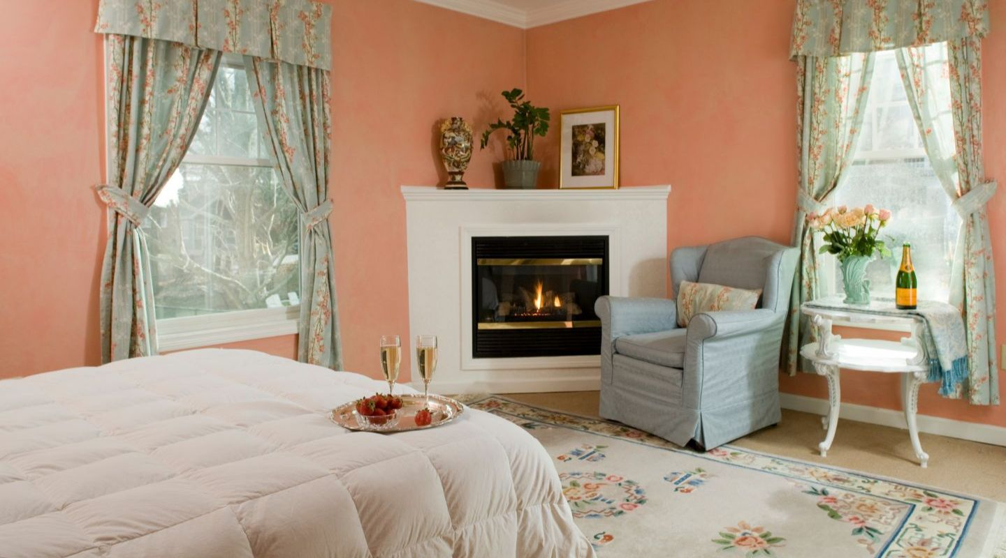 Fireplaces in our Berkshires Bed and Breakfast