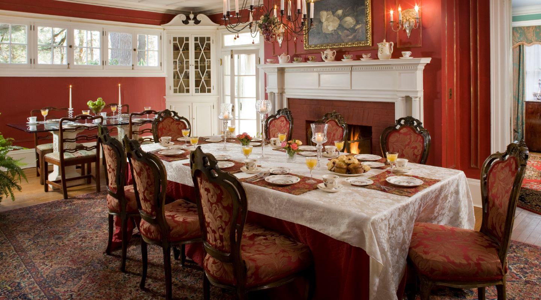 Dining Room at Hampton Terrace Inn