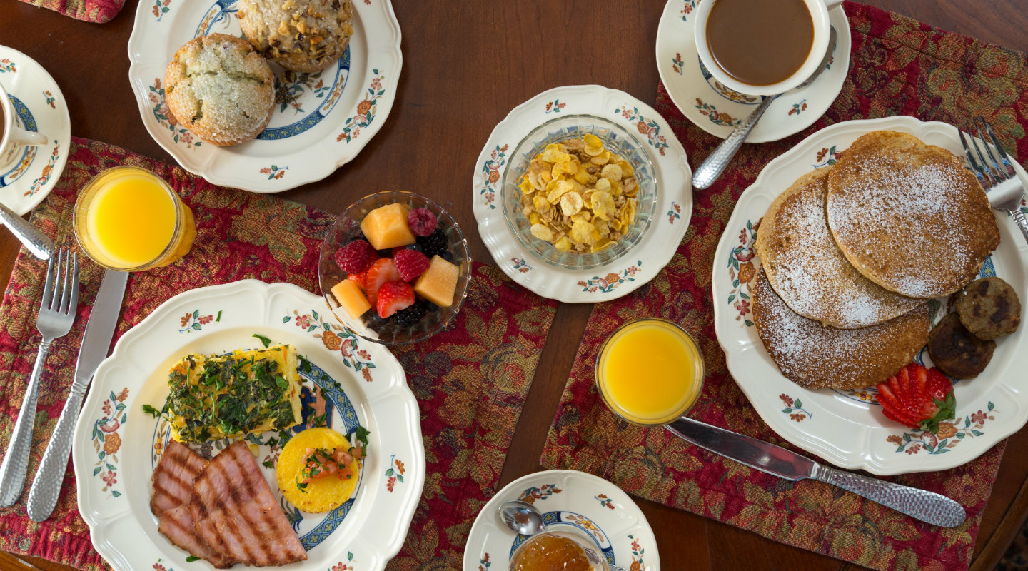 Breakfast is Served at Our Berkshires Bed and Breakfast